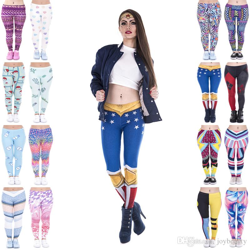 0389264d66e89 2019 Lady Leggings Mix 16 Styles Cactus Milk Connected Triangles Wild Dot  African Zig Zag American Woman Love Candy 3D Print Yoga Pants JL029 From  Joybeauty ...
