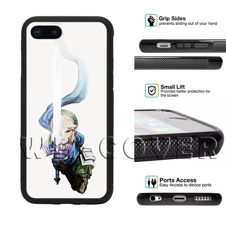 timeless design 7f4eb b42fb The Legend of Zelda Sheikah Slate Breath of the Wild RRF Phone Case For  iPhone iX i5/6/7/8 Plus SE
