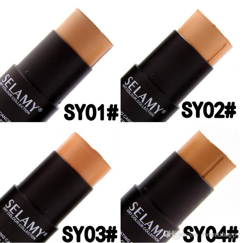 face concealer stick contouring makeup highlighter corretivo foundation cream contour stick beauty tool