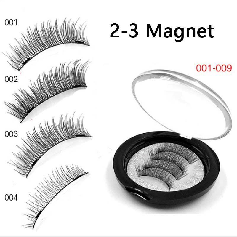 fa648c76910 2 3 Magnetic Eyelash Extension 3D Eyelashes On The Magnet False Eyelashes  Handmade Fake Eye Lashes Thicker Cross Reusable Party Lashes Semi Permanent  ...