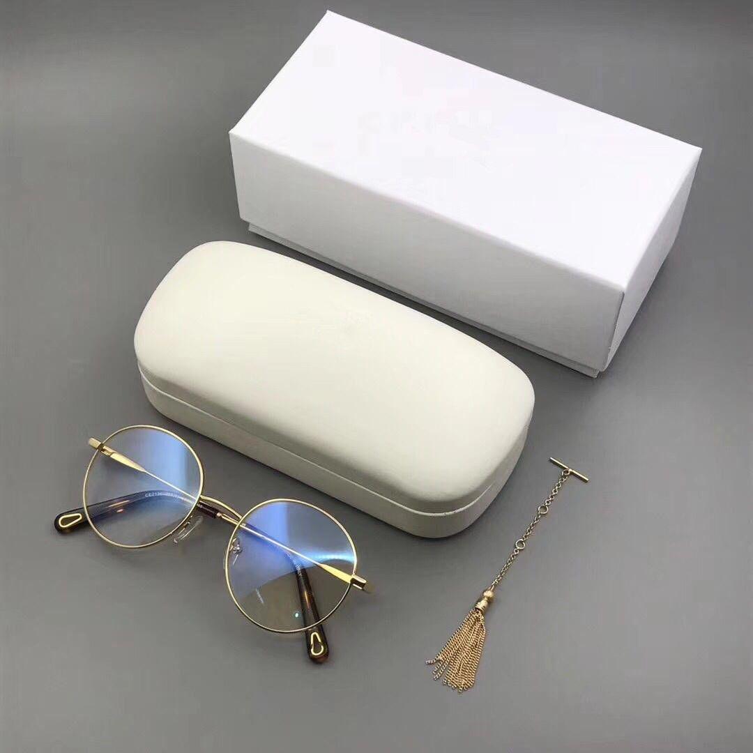 2019 Eyeglasses Frame Luxury Glasses 2136 Spectacle Frame Eyeglasses For  Men Women Myopia Brand Designer Glasses Frame Clear Lens With Case From  Cyz1222, ...