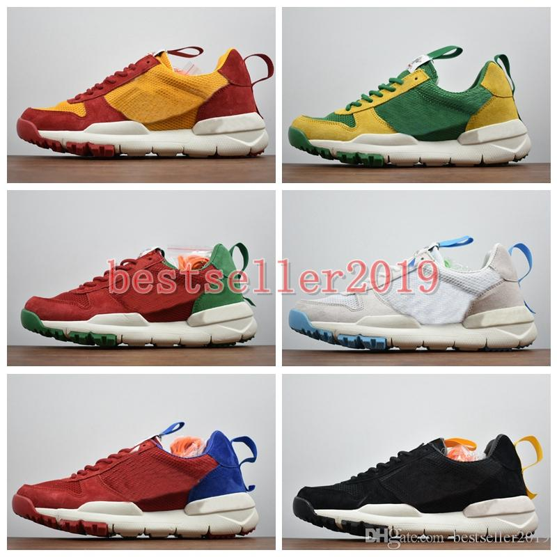 the latest cb5c0 b5b46 World Cup 2018 Tom Sachs X Craft Mars Yard 2 TS NASA Running Shoes Mens  Trainers Fashion National Flag Designer Sneakers Zapatos 36 44 Trail  Running Shoes ...