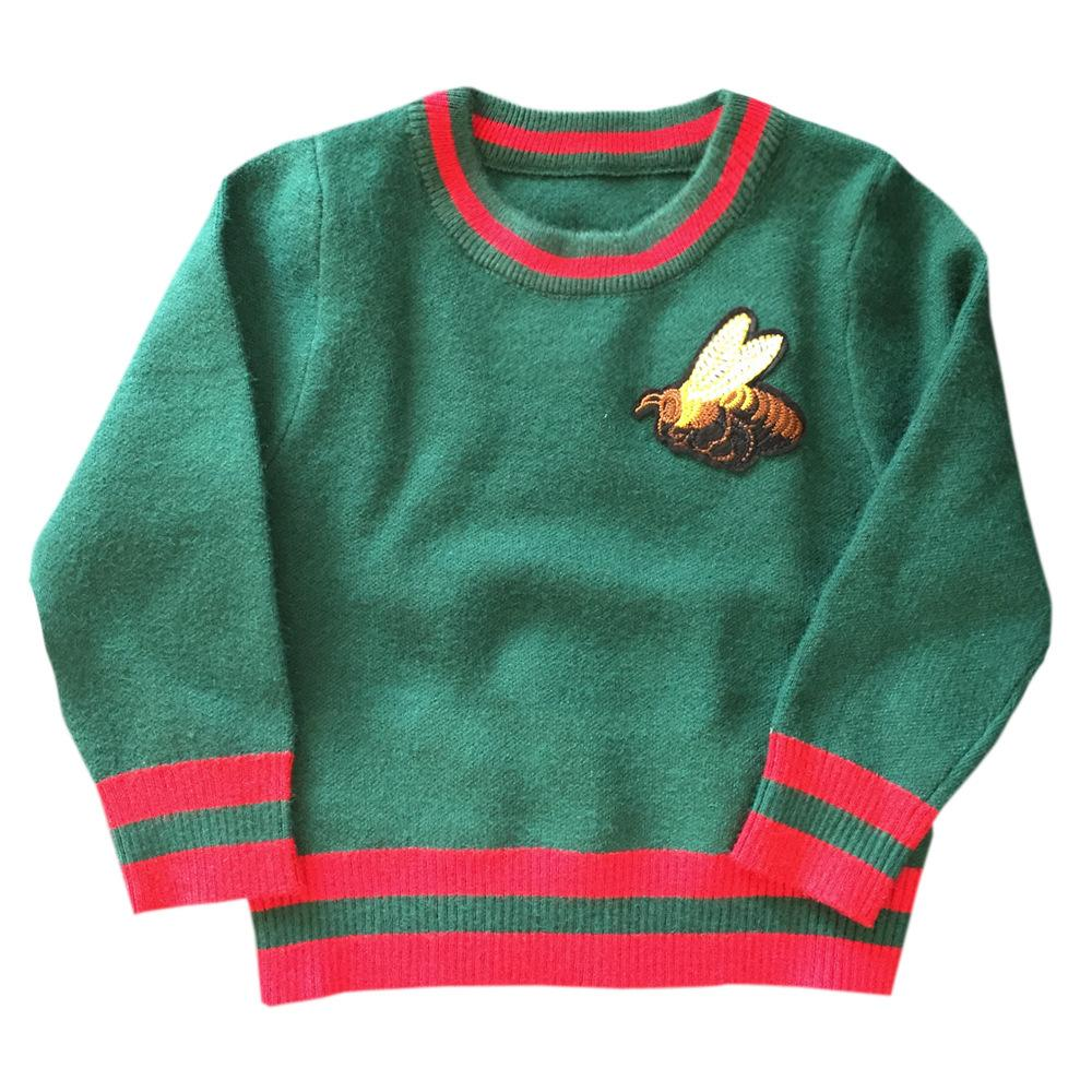 9cd0831e7115 Male Girl Pullover Autumn Children S Clothes Honeybee New Pattern In ...