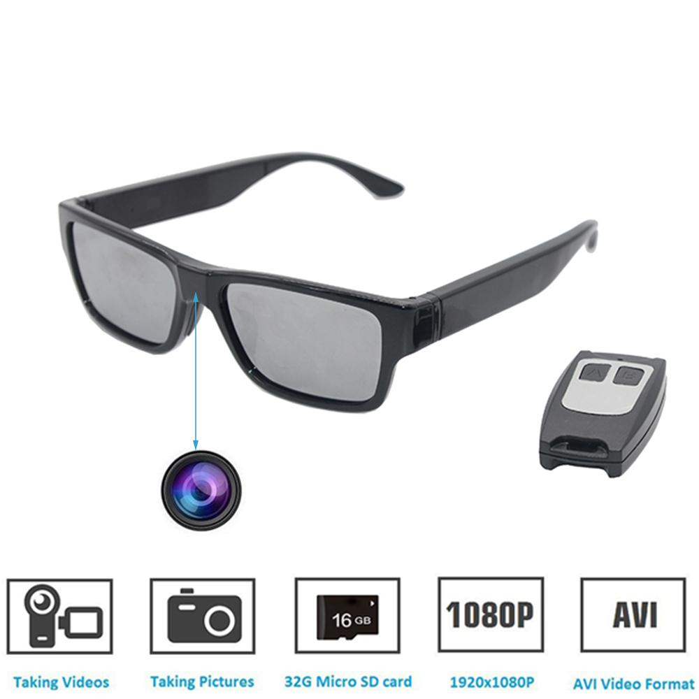 bd888a9650e 2019 Sunglasses Camera Remote Control And Touch Switch Full HD 1080P With  No Hole Mini Camera Video Glasses EyeWear Camcorder Built 16GB From Ganss