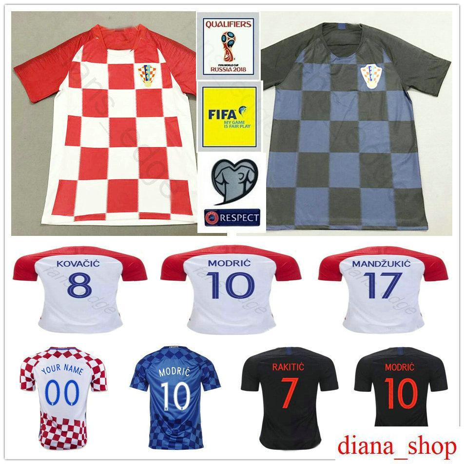 d7e5c547d9a ... 50% off cheap 2018 world cup hrvatska soccer jersey 10 modric 4 perisic  7 rakitic
