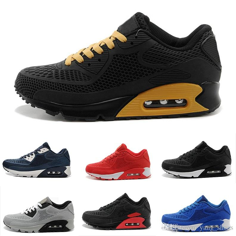 promo code 6a42c d1277 Großhandel Nike Air Max 90 KPU Running Shoes Hohe Qualität Athletic 2018 90  NIC QS Internationale Flagge Schuhe Männer Frauen Russian World Cup Outdoor  ...