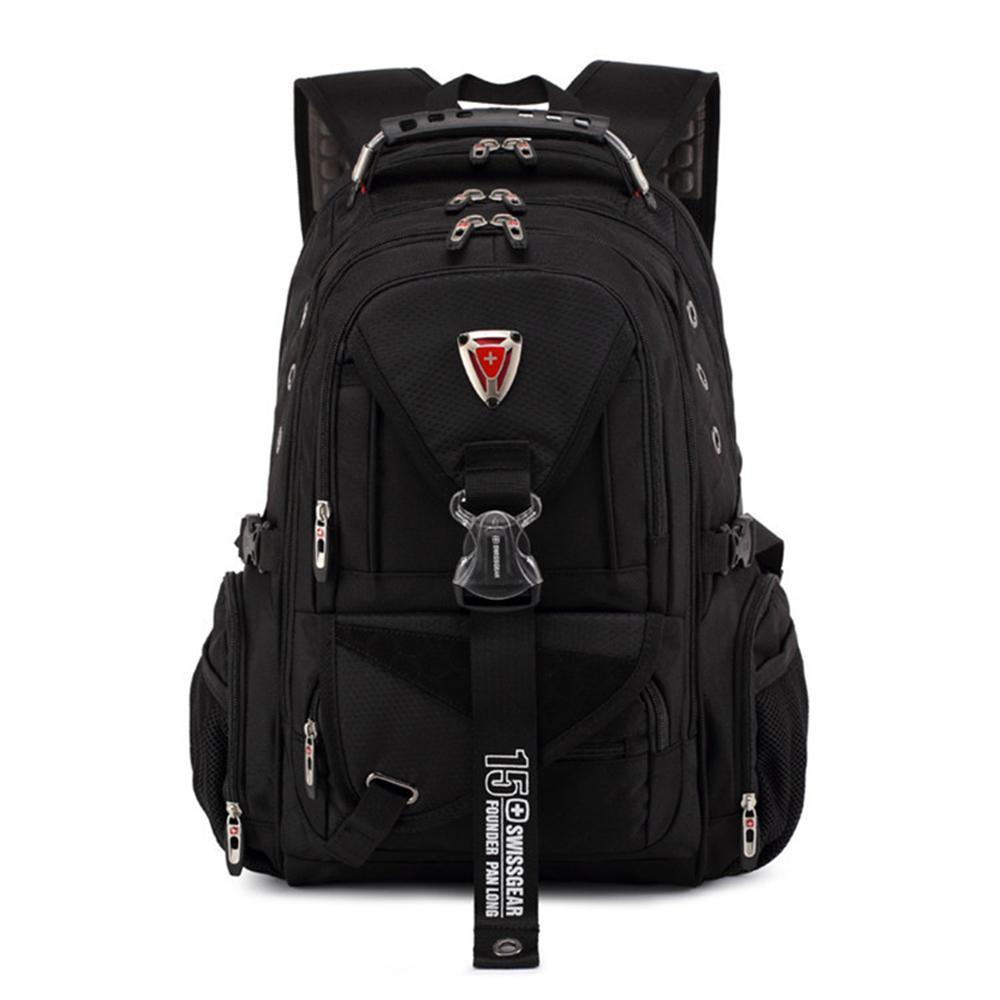 2019 Top Quality Swiss Rucksack Large Size 17 Laptop Woman Man Travel  Backpack Work Fashion College Daypack Waterproof From Sophib,  90.14    DHgate.Com bb07adfd43