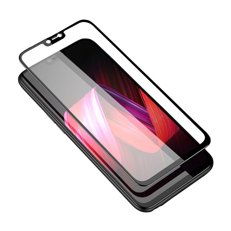 sports shoes e4b67 aca26 9H Tempered Glass For OPPO F7 Full Cover Toughened Glass Screen Protector  Anti-Scratch Protective Film For Oppo R15