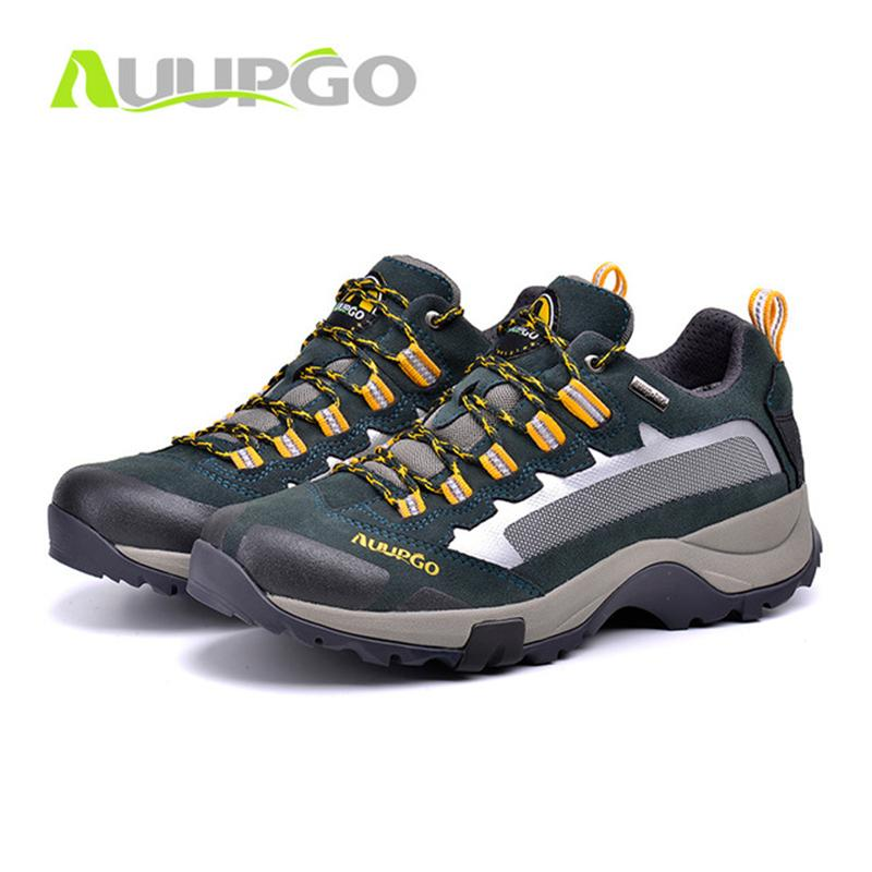 89342c5f456945 2019 Men Outdoor Sneakers Mens Waterproof Hiking Shoes Breathable Sports  Lace Up Climbing Shoes Lightweight Trekking D0394 From Fopfei