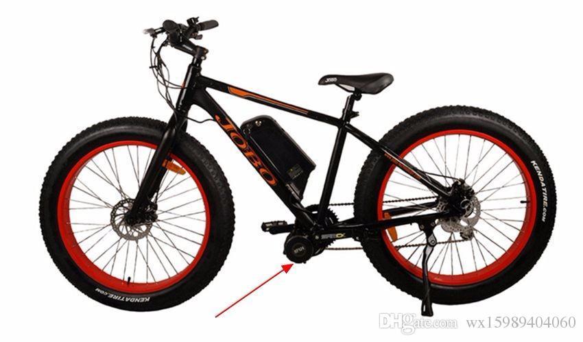 Bafang BBS01 36V 500W Ebike Motor with LCD 8FUN mid drive Electric Bike conversion kits