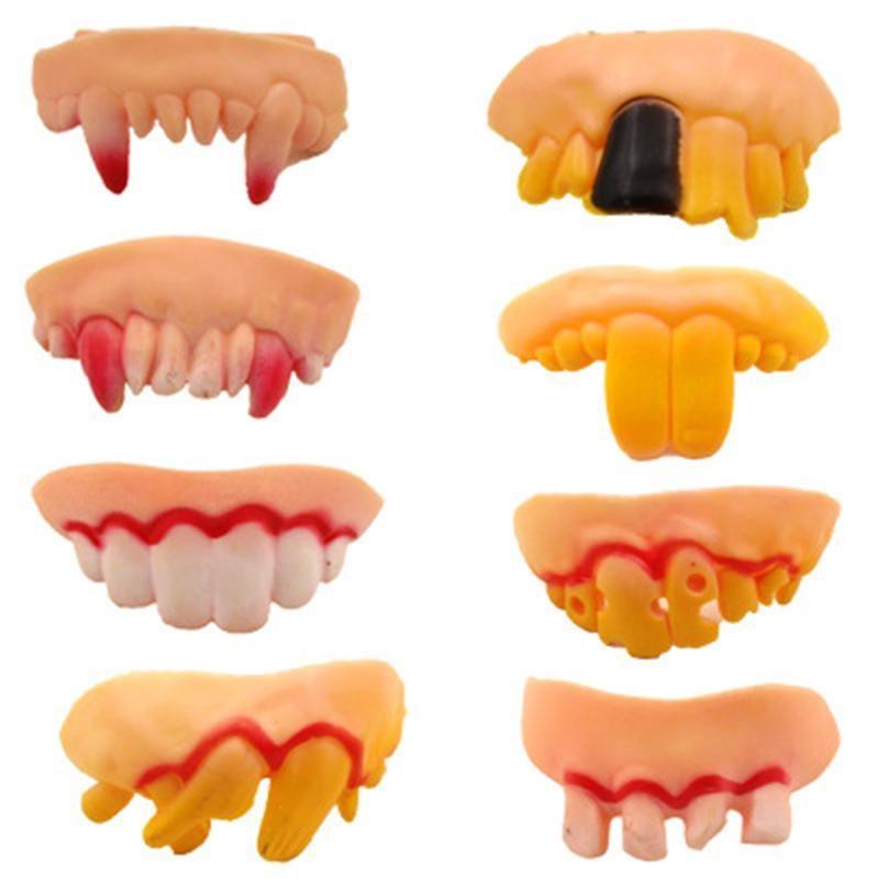 Satın Al 1 Adet çoğaltma Iğrenme çirkin Protez Yanlış çürük Diş