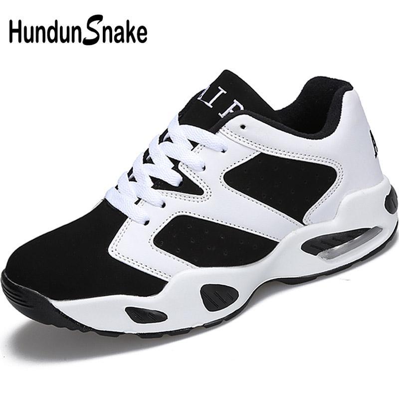 af31296fc32 Hundunsnake Air Cushion Running Shoes For Women White Woman Sport ...