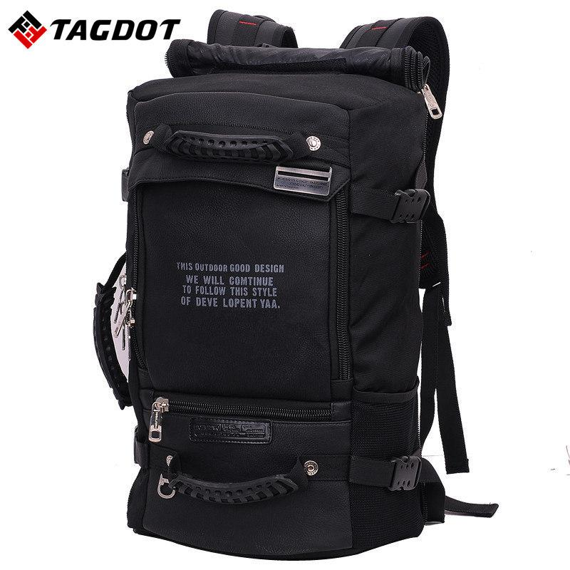 4c5e267d2f2d Laptop Backpack 17 18 inch Laptop Bag 17.3 15.6 14 inch Outdoor Large  Travel backpack Shoulder Men bag Capacity Multi-purpose