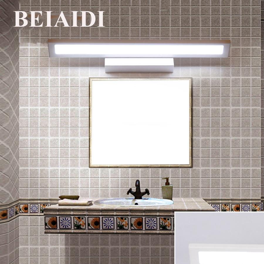 2018 Beiaidi Modern Brief Bathroom Mirror Light Dressing Table ...