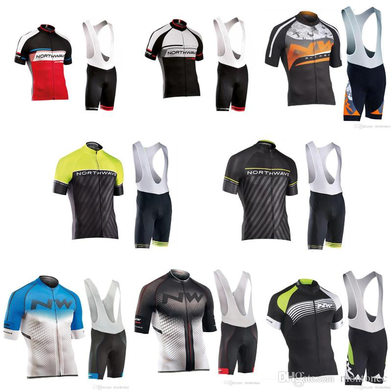NW Team Cycling Short Sleeves Jersey Bib Shorts Sets Summer Mens Cycling  Clothing Bike Racing Ropa Ciclismo Hombre MTB Sport Clothes E60910 Best  Cycling ... b3eeca45c