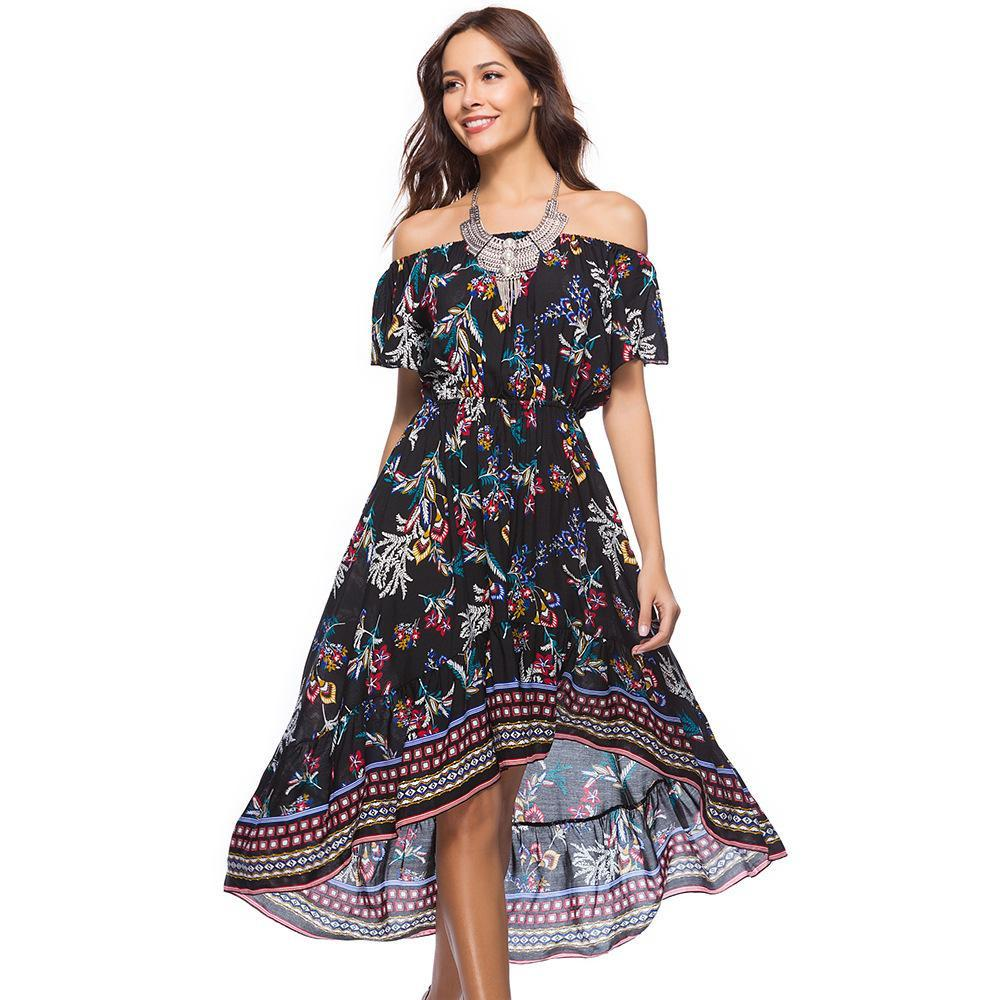 Long-Length Summer Dresses