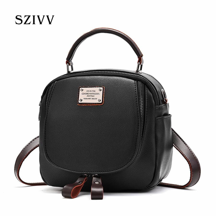 1caab1ce8d 2018 New Fashion PU Leather Handbags For Women Ladies Flap Shoulder Bag  Korean Cross Border Handbag Leisure Messenger Bag Leather Satchel Ladies  Bags From ...