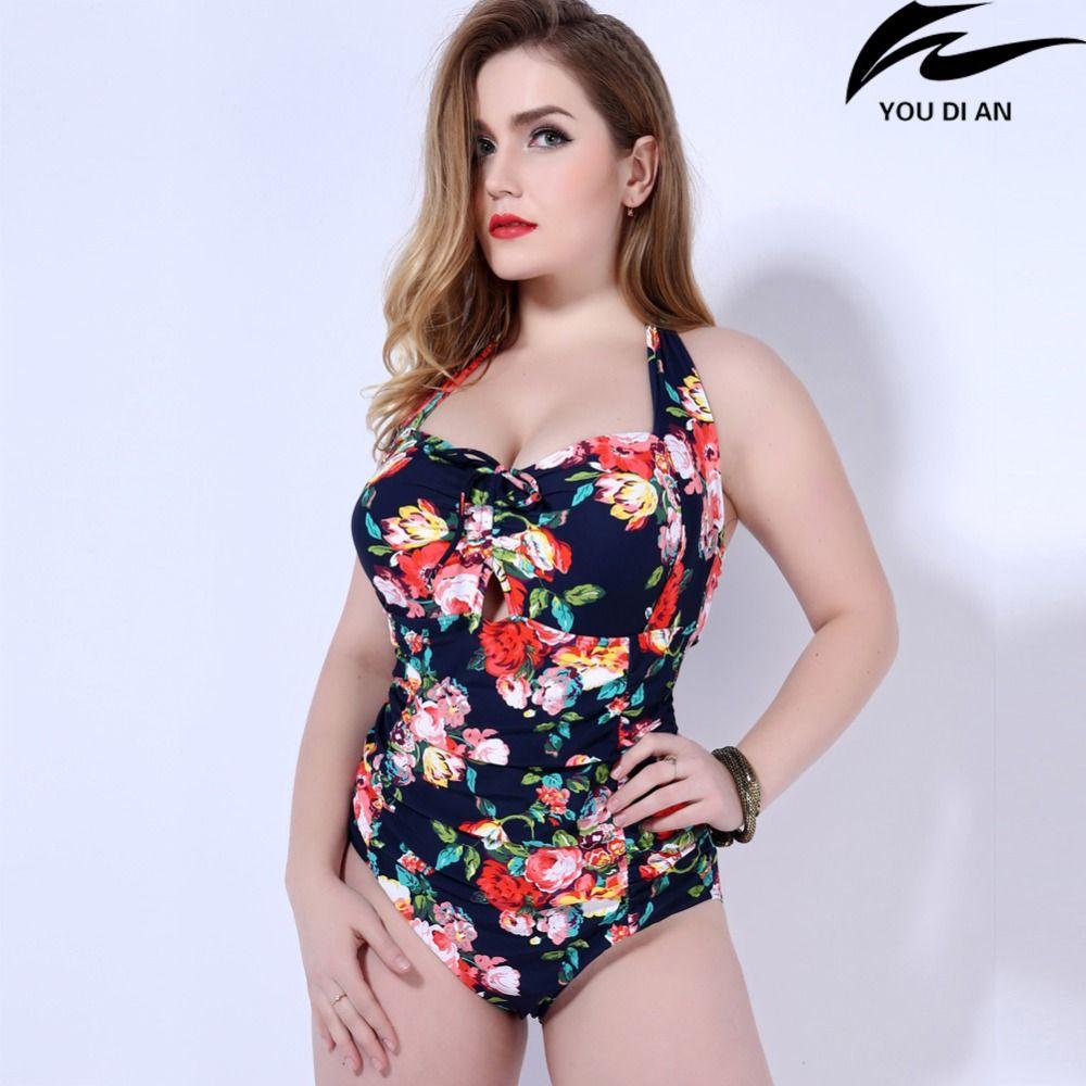26dbec239ad81 2019 Hot New Push Up One Piece Swimsuit Women Plus Size Swimwear Russian Swimming  Suit Large Big Size Beachwear From Zhusa, $30.44 | DHgate.Com