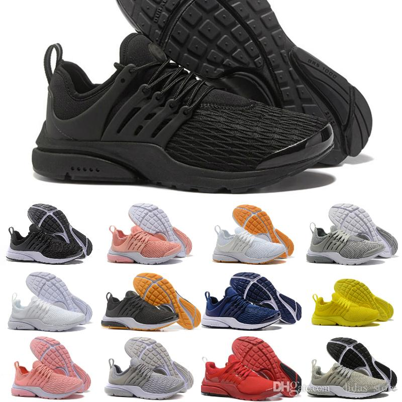 a46196a5c81d 2018 New Presto 5 Ultra Br Qs Black White Yellow Red Running Shoes For Airs  Prestos Women Men Essential Cheap Off Casual Sneakers Sneakers Shoes Geox  Shoes ...