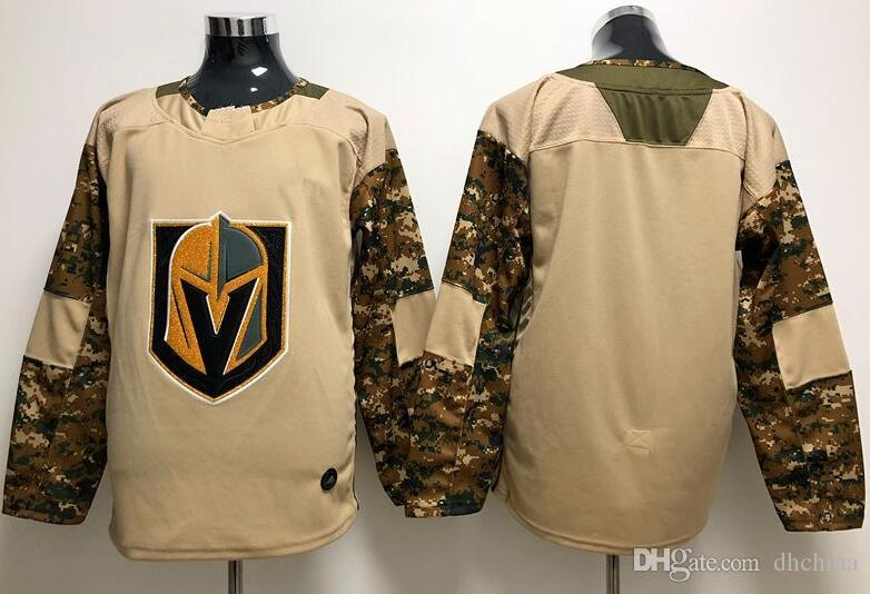 timeless design 2e553 6358b New Vegas Golden Knights Jerseys Camo Veterans Day Jersey 2018 New Hockey  Jerseys Camo Color Size M-XXXL Mix Order All Jerseys
