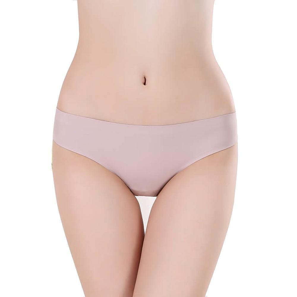 Nova calcinha sexy mulheres calcinhas tanga gelo seda sem costura cuecas preto cueca invisível impressão cuecas feminino calcinha sp21a