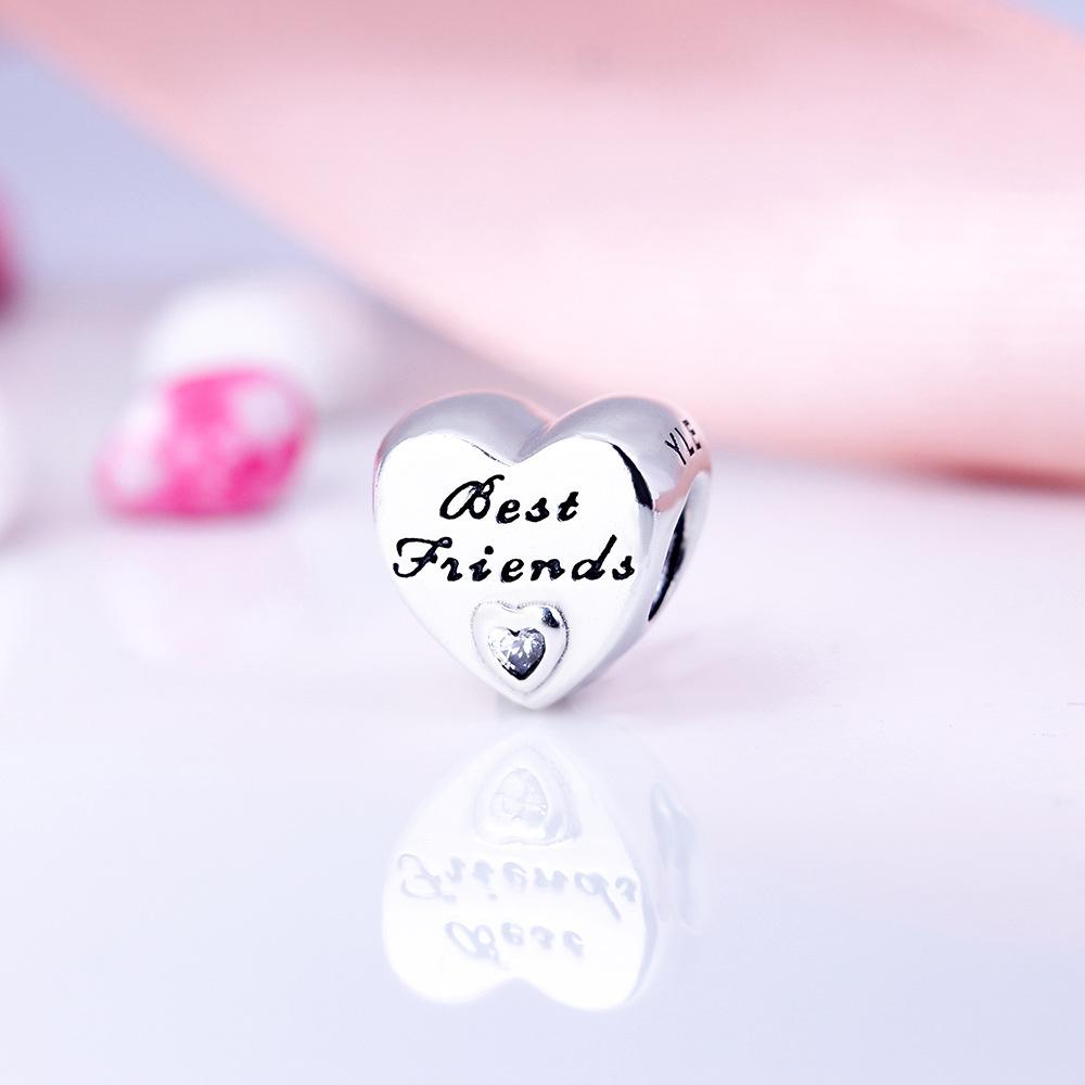 f8a769cc5 Cheap Pandora Rose Gold Heart Charm Wholesale Crystal Red Heart Charms
