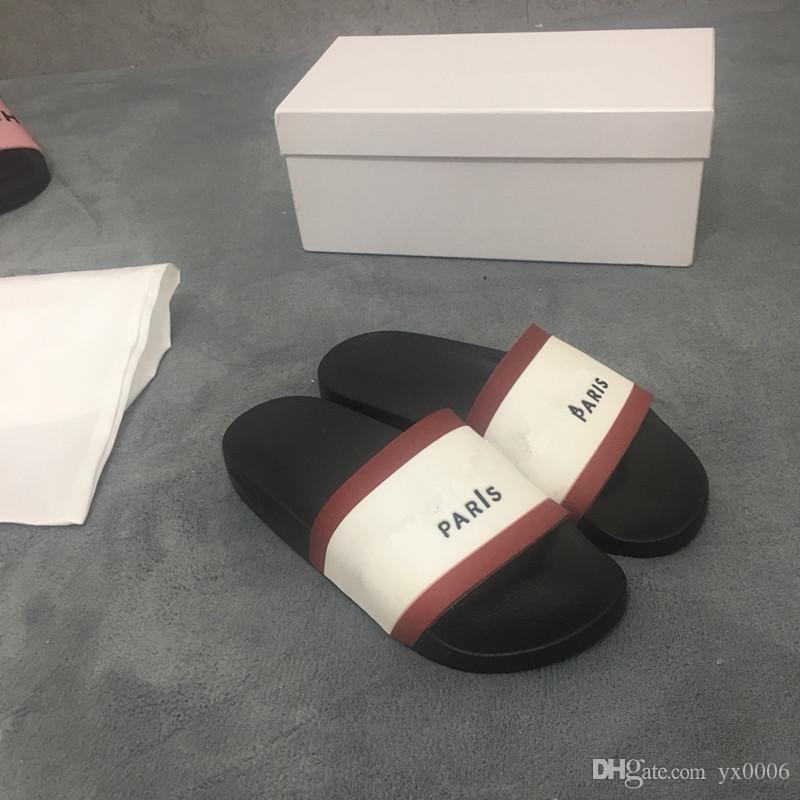 582439b04a9 Summer Flat Slippers Beach Antiskid Flip Flops Sandals Shoes Summer ...