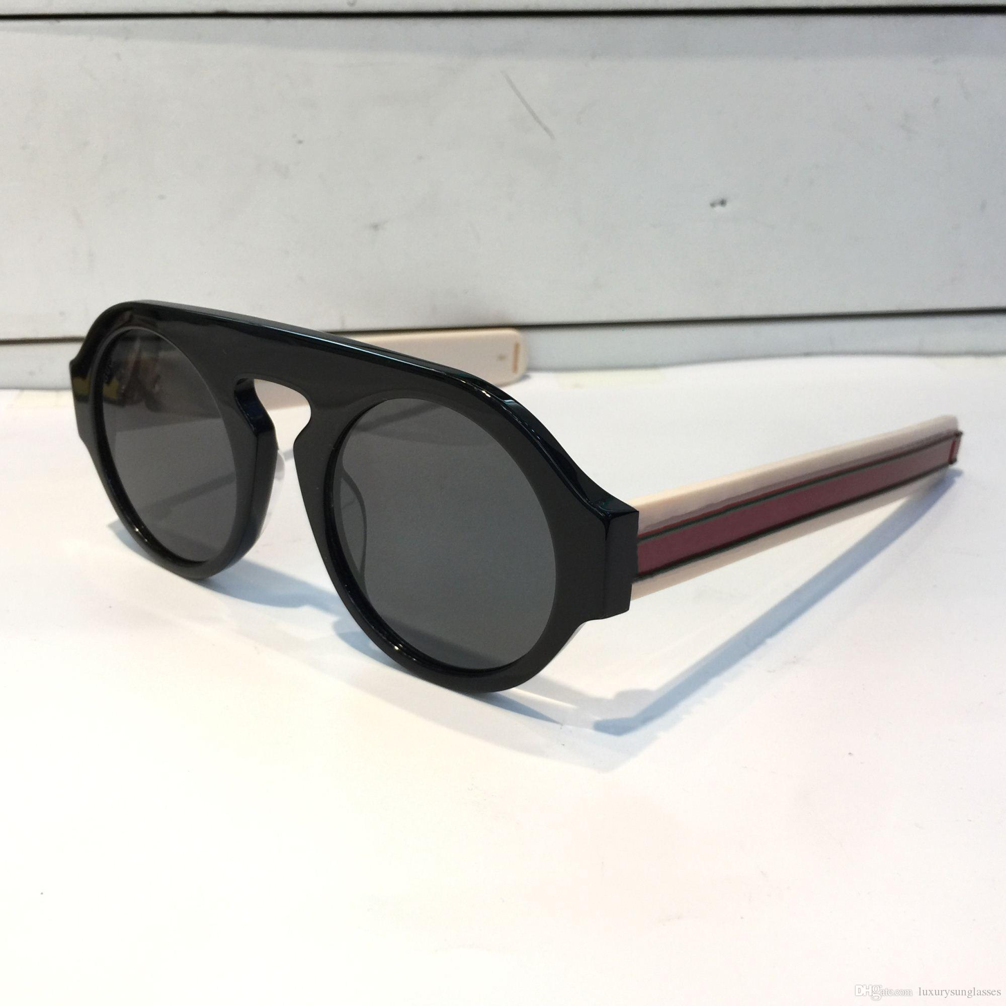 3edb4ed3a42 Luxury 0256 Sunglasses For Women Brand Designer 0256S Round Summer ...