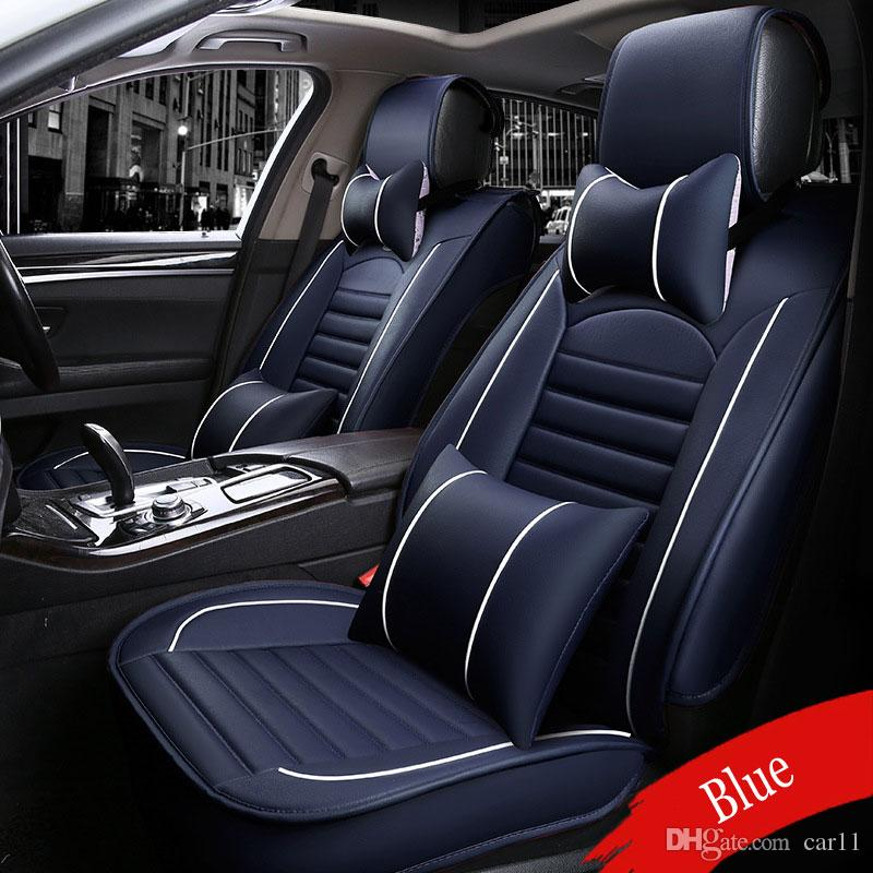 Front Rear Luxury Leather Car Seat Covers For Jeep Grand Cherokee