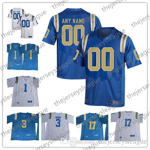 2018 Ucla Bruins Custom Personalized Any Name Any Number White Blue  Stitched  3 Josh Rosen 8 Troy Aikman Ncaa College Football Jerseys S 3xl  From ... 4ea81b7c8