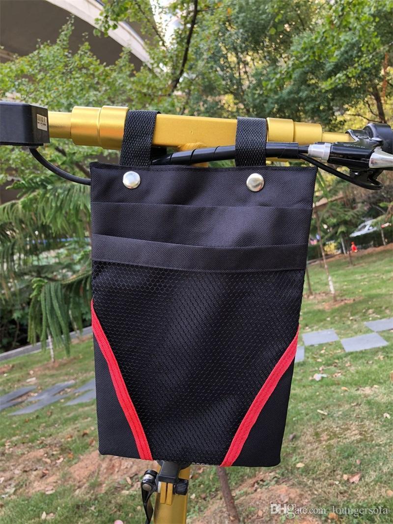 2018 New Oxford Grid Simple Handbag Big Capacity Creativo Bicicletta Sacchetto di immagazzinaggio Paletta strumenti EDC Pacchetto 17pw X