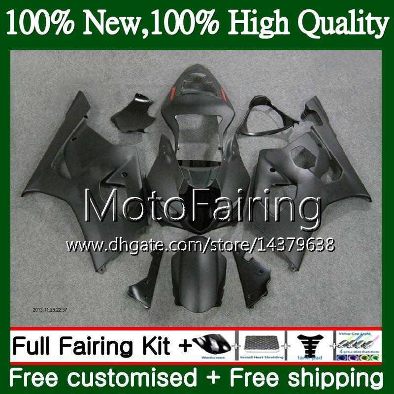 SUZUKI GSX-R1000 Gövde GSXR-1000 GSXR 1000 03 04 Mat siyah Gövde 29MF20 GSXR1000 03 04 K3 GSX R1000 2003 2004 Fairing Karoser