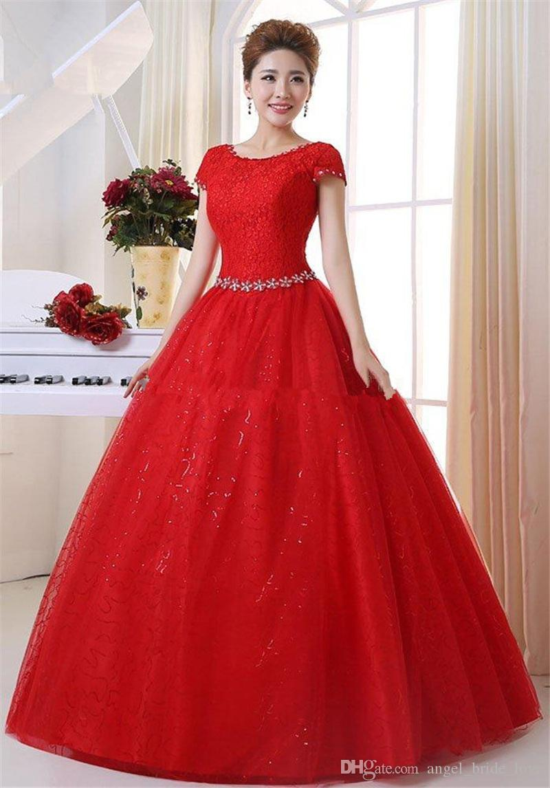 Plus Size Red Wedding Gowns – DACC