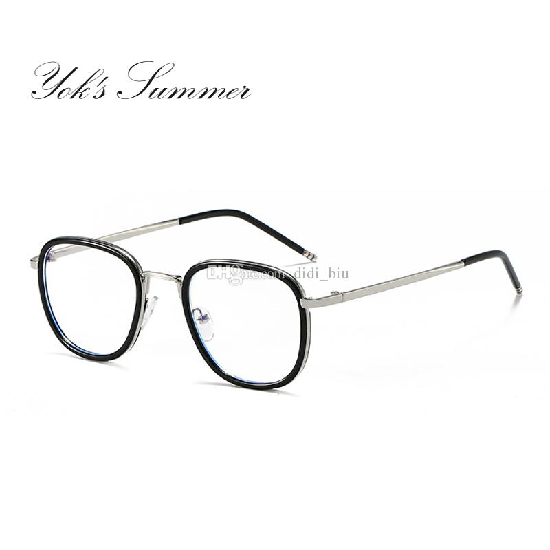 27f58289ea Yok s Summer Anti Blue Ray Computer Gaming Glasses Women Men Thin ...
