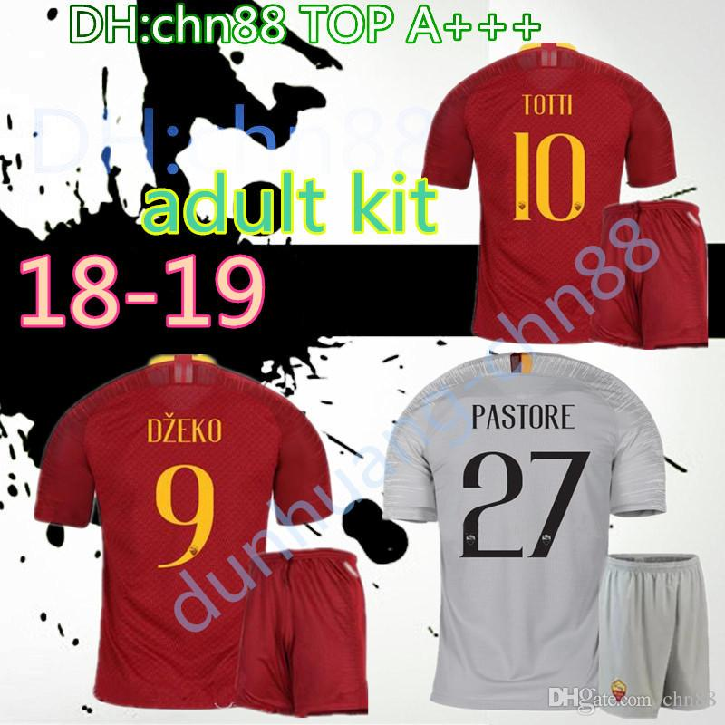 e29bcafa2 2018 2019 ROMA Adult Kit Jersey 18 19 Rome TOTTI Special DE ROSSI ...