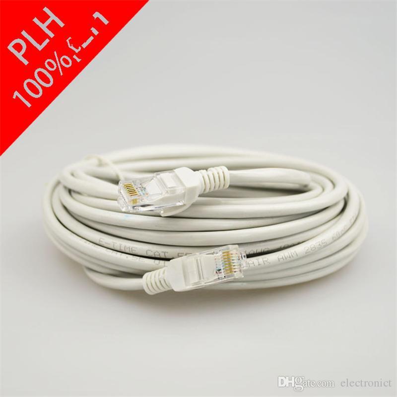 Ethernet Cable Cat7 Lan Cable UTP RJ 45 Network Cables rj45 Patch Cord 1m/2m/10m/15m/20m for Router Laptop Ethernet Cable