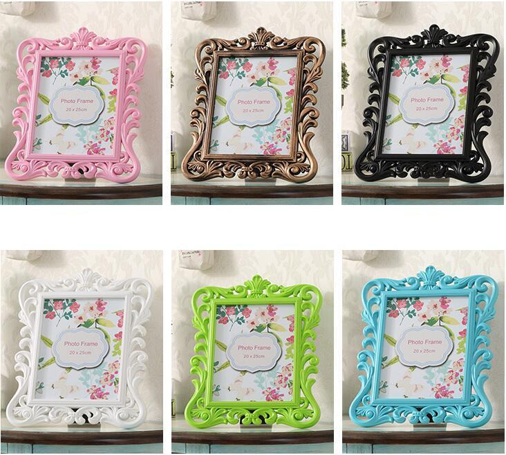 Fine Baroque Photo Frame Wedding Party Favor Gifts Place Card Holder ...
