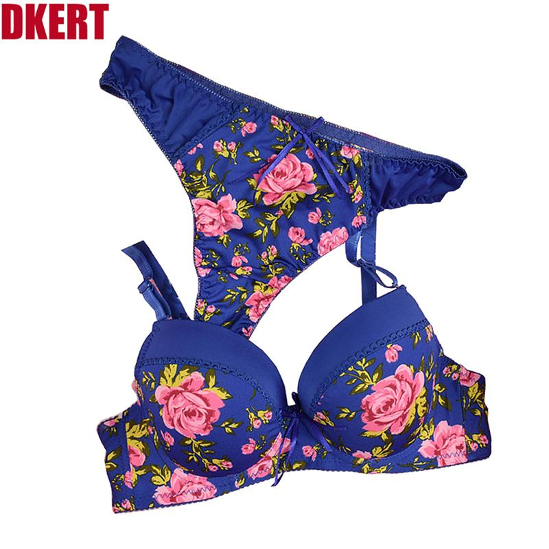 578a148d4 DKERT Sexy Fashion Leopard Thong Bra Set Push Up ABC Cup Deep V Bra And Panty  Set French Romantic Sexy Lingerie Thong Bra Set Bra Set Fashion Bra Set  Online ...