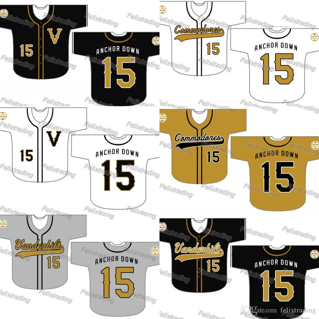14a9125ee 2019 Custom Vanderbilt Commodores Baseball Jersey Women Youth Men White All  Stitched Baseball Jerseys Fast From Felixtrading