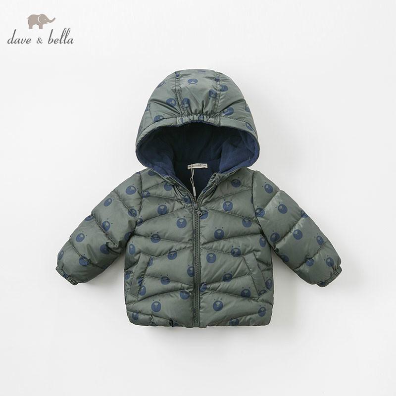 5e2b381035f2e DBM9248 Dave Bella BABY BOYS Down Jacket Children Hooded Outerwear Infant  Toddler Boutique 90% White Duck Down Coat Winter Coat Girls Children Winter  Coats ...