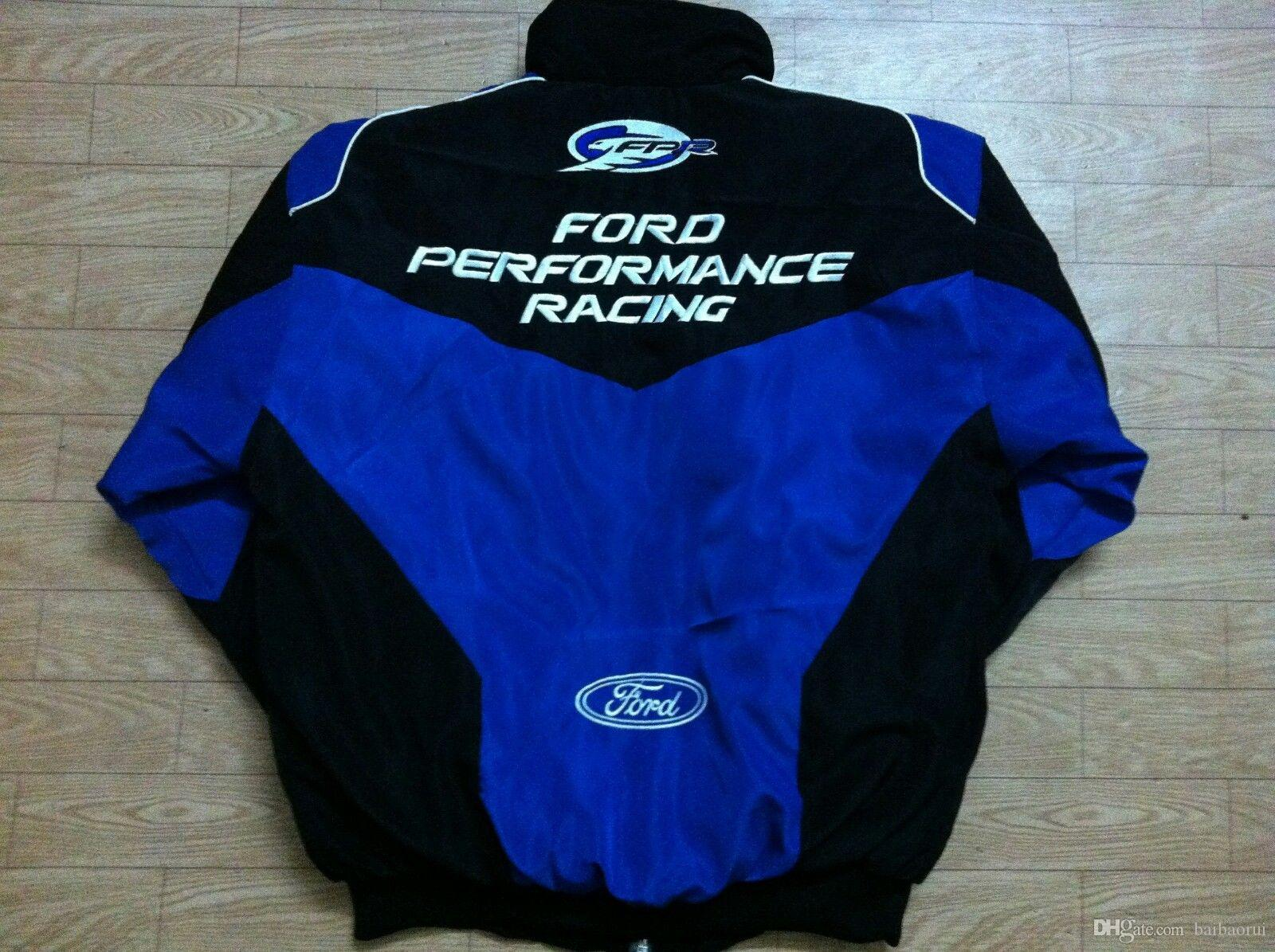 2018 Ford Embroidery Cotton Nascar Moto Car Racing Team Jacket Suit