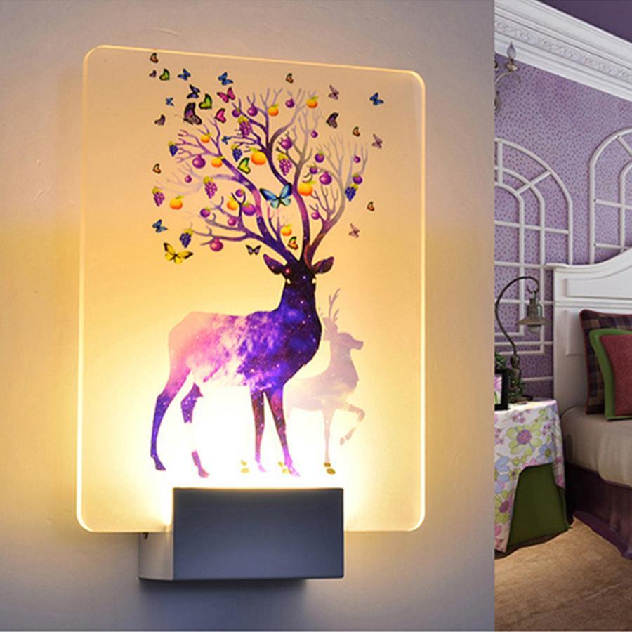2018 14w Wall Lamp Ac 110v 220v Led Wall Light For Bedroom Living ...