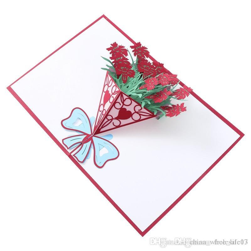 3D Pop Up Cards Valentine Lover Happy Birthday Anniversary Greeting For Holiday E Card From Free Life03