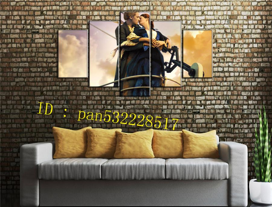 2018 Titanic Canvas Prints Wall Art Oil Painting Home Decor ...