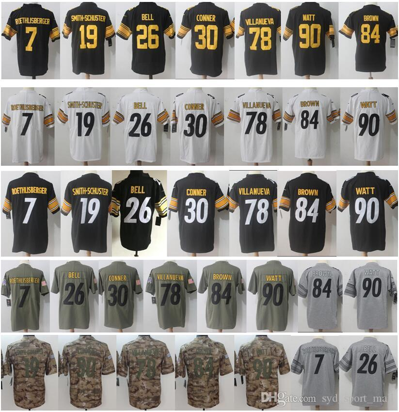 803454979 2018 50 Ryan Shazier 12 Terry Bradshaw 43 Troy Polamalu 36 Jerome Bettis 92  Harrison 78