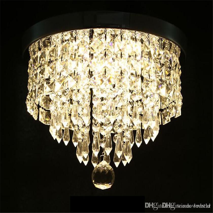 Acheter Moderne Lustre Plafonnier Cristal Boule Luminaire Pendentif