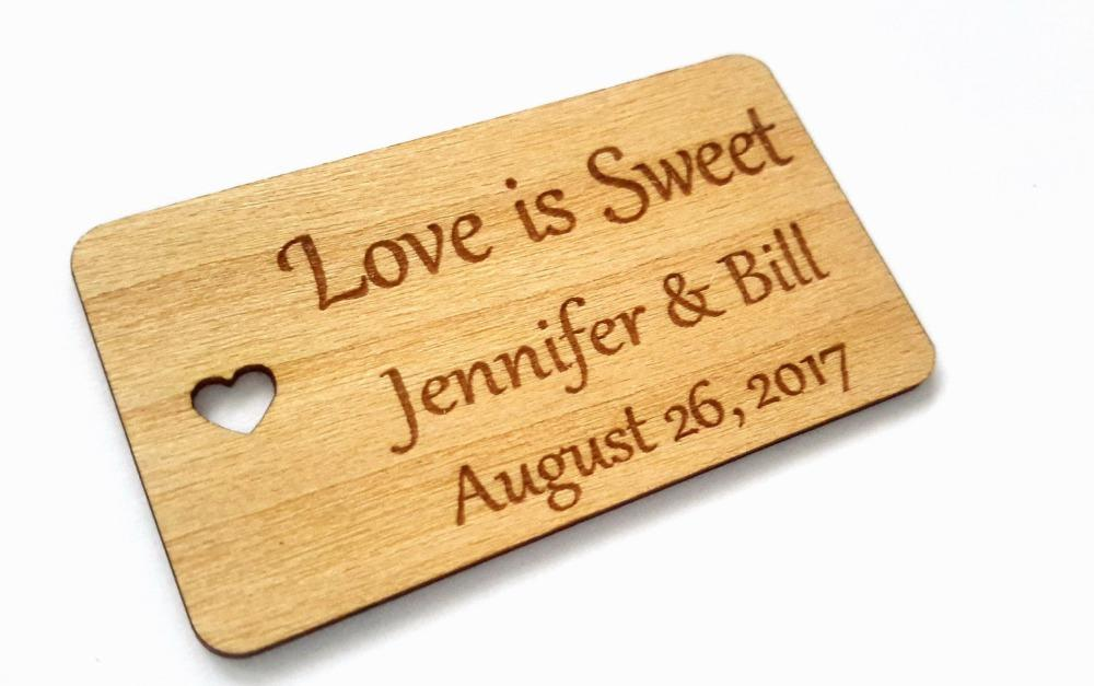 personalized love wedding tags custom engraved wooden tags wedding favor tags rustic bridal shower favor tags birthday favors birthday party