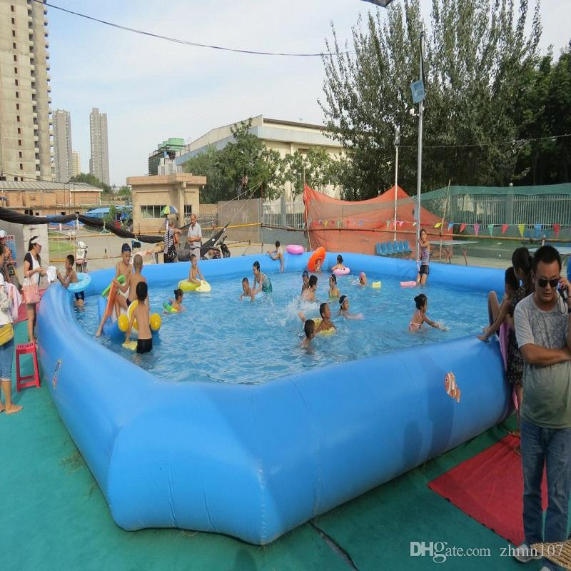 스페셜티 스토어 크기 10 * 10 M 대형 야외 수영장 팽창 식 수영장 패들링 풀 차이 크기 차이 가격