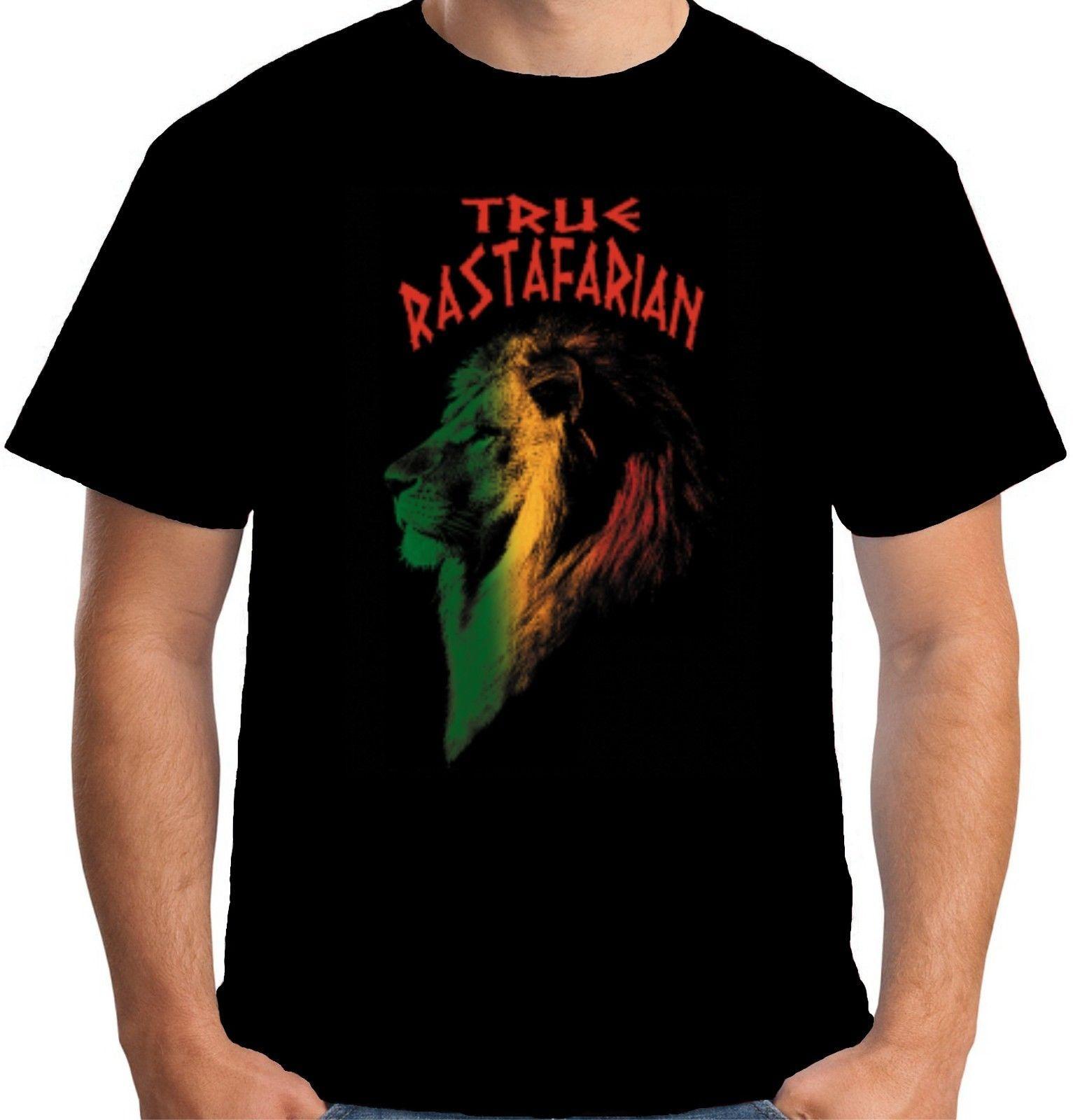 e5bbca3e47e Velocitee Mens True Rastafarian Lion T Shirt Rasta Cool Marley Reggae  W15183 Online with  15.56 Piece on Futuretshirts s Store