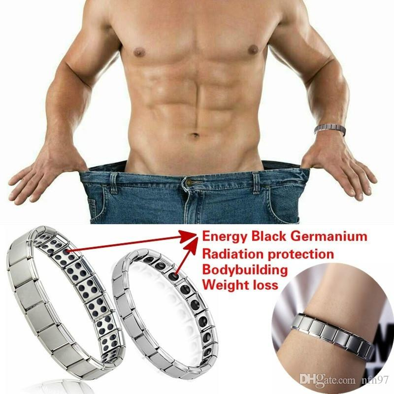 Couple Germanium Titanium Steel Elastic Bracelet Stretch Bracelet Bangle For Men Women Health Energy Ge Power Jewelry New fashion wholesale